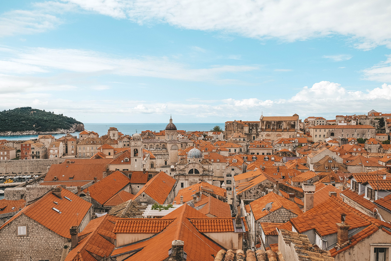 Les toits de Dubrovnik