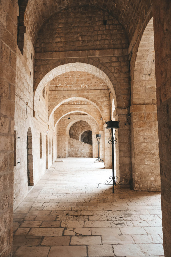 Les arcades du fort