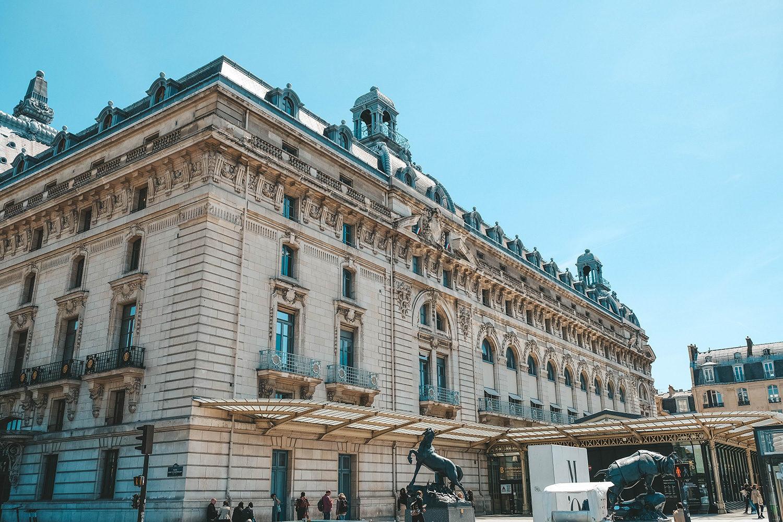 L'entrée principale du musée d'Orsay