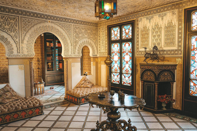 Salon oriental du château de Monte-Cristo