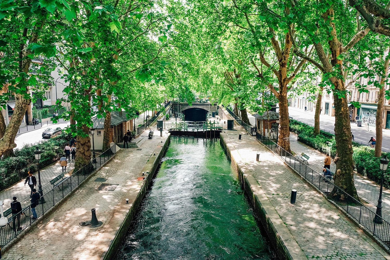 Écluse du Canal Saint-Martin