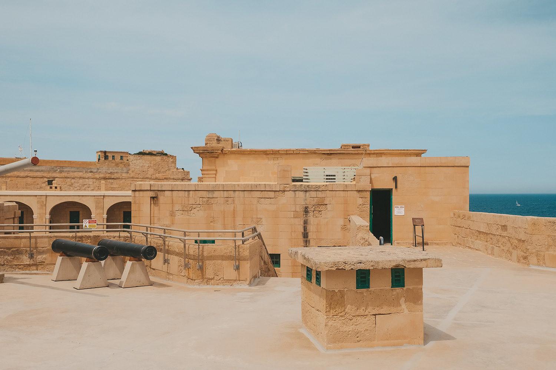 Cour intérieure du Fort St Elmo