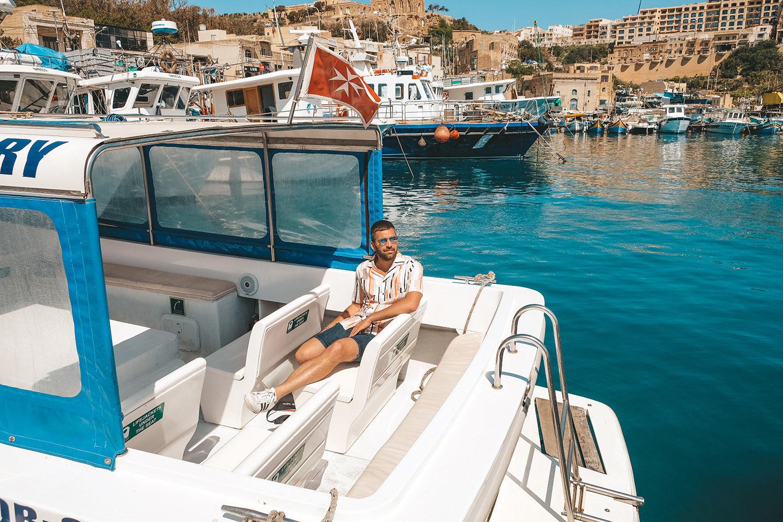 Départ de Gozo pour Comino