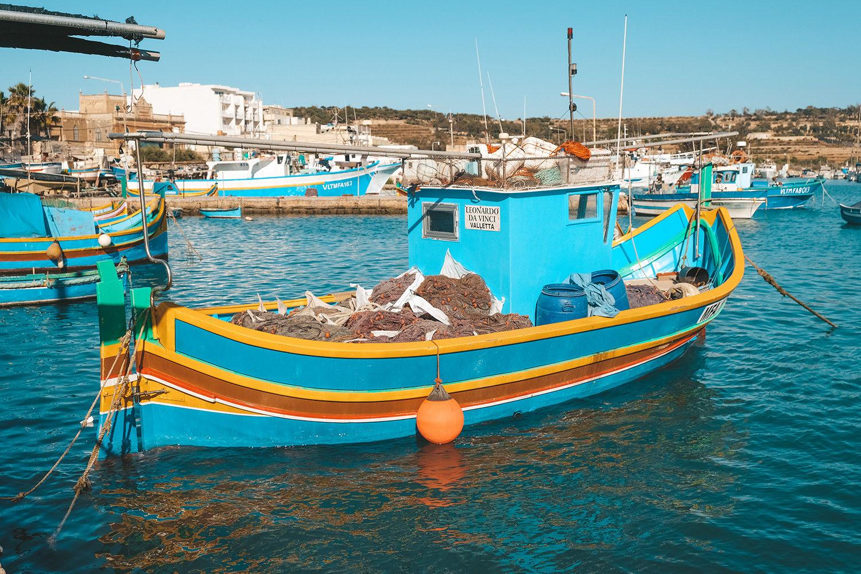 Bateau typique de Malte