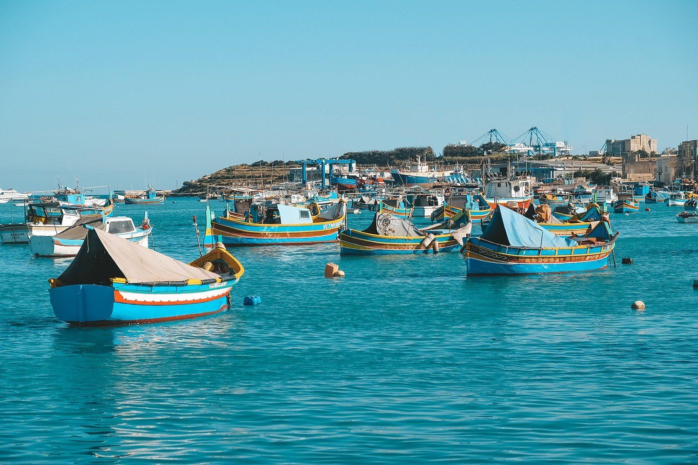 Le port de Marsaxlokk