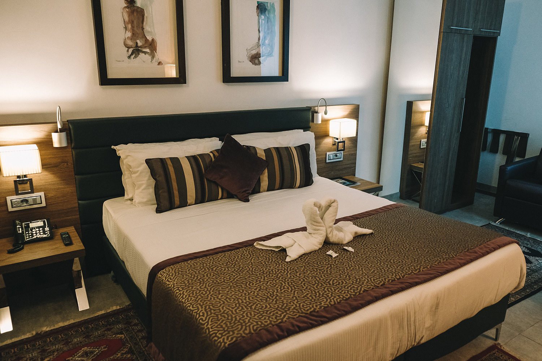 La chambre du Palazzo Paolina Boutique Hotel