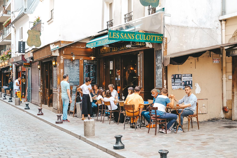 Petit bistrot de la rue de Lappe