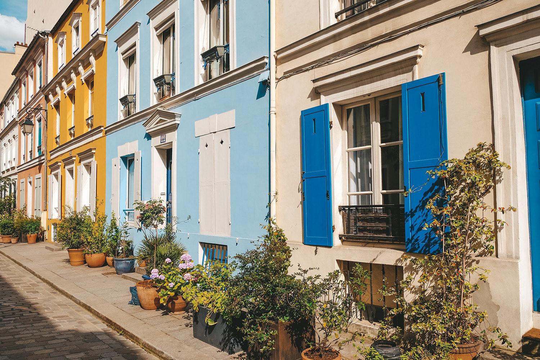 Chaque maison a sa propre couleur !