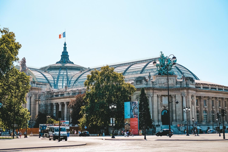 La coupole du Grand Palais