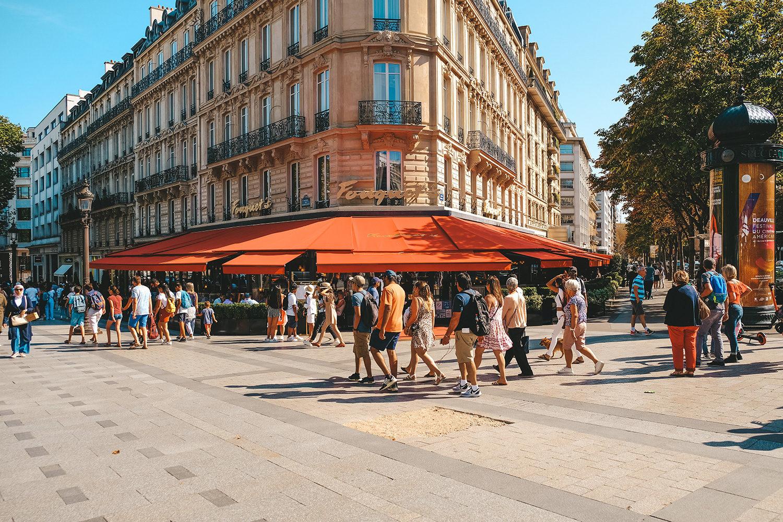 L'immanquable brasserie Le Fouquet's