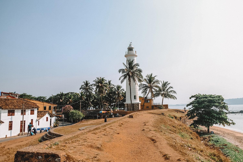 Balade au Fort de Galle et vue sur son phare