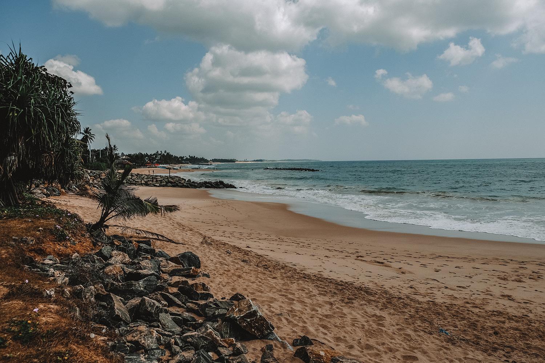 La plage de Tangalle