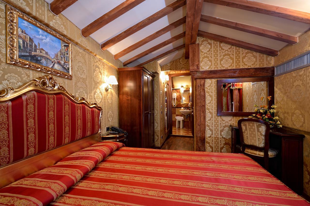 Ambiance rococo dans cet hôtel de charme vénitien