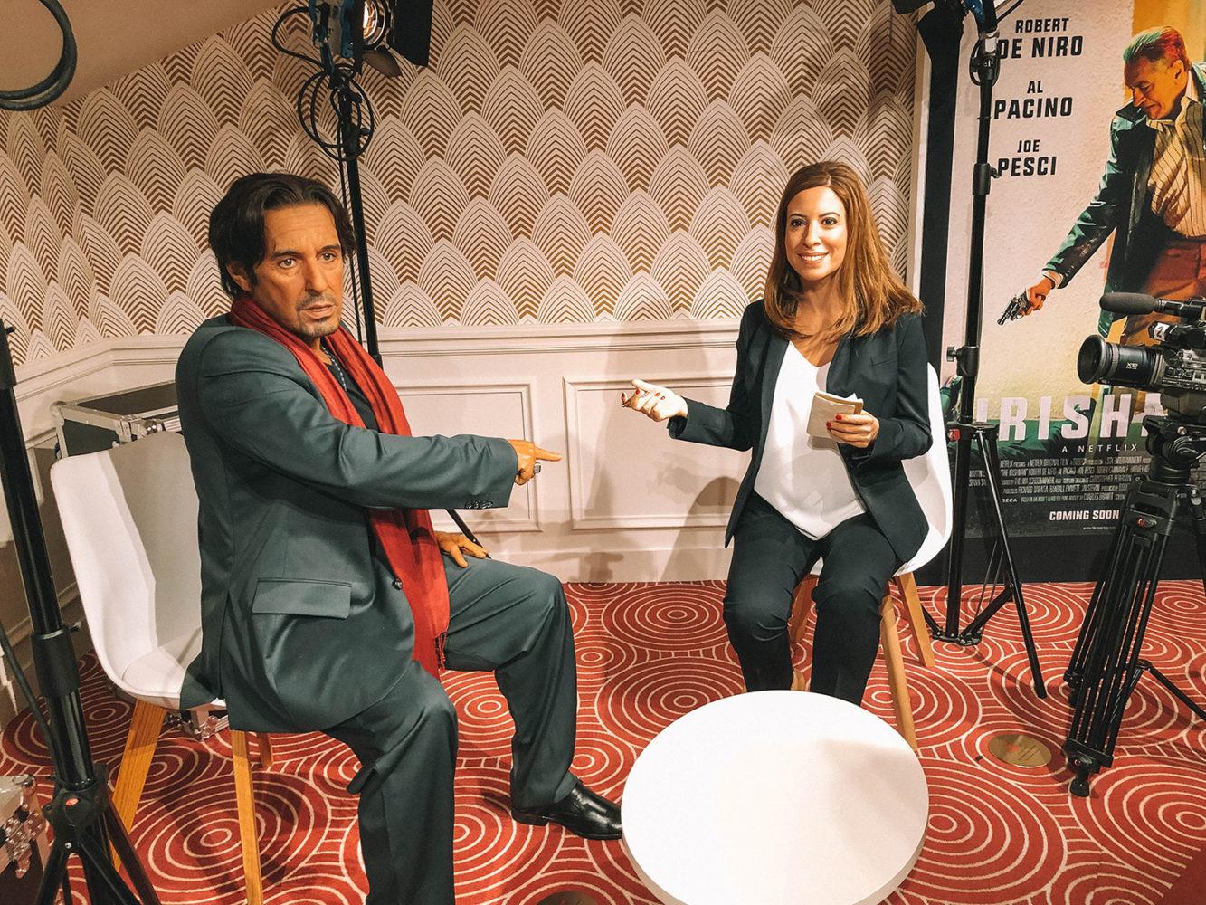 Léa Salamé et Al Pacino