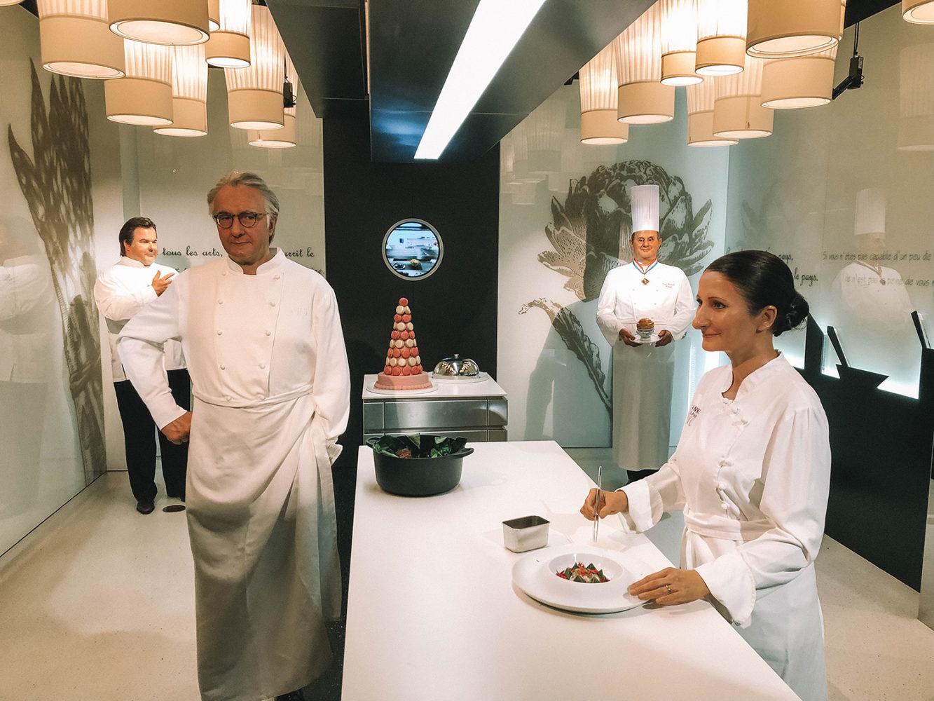 Les chefs étoilés français