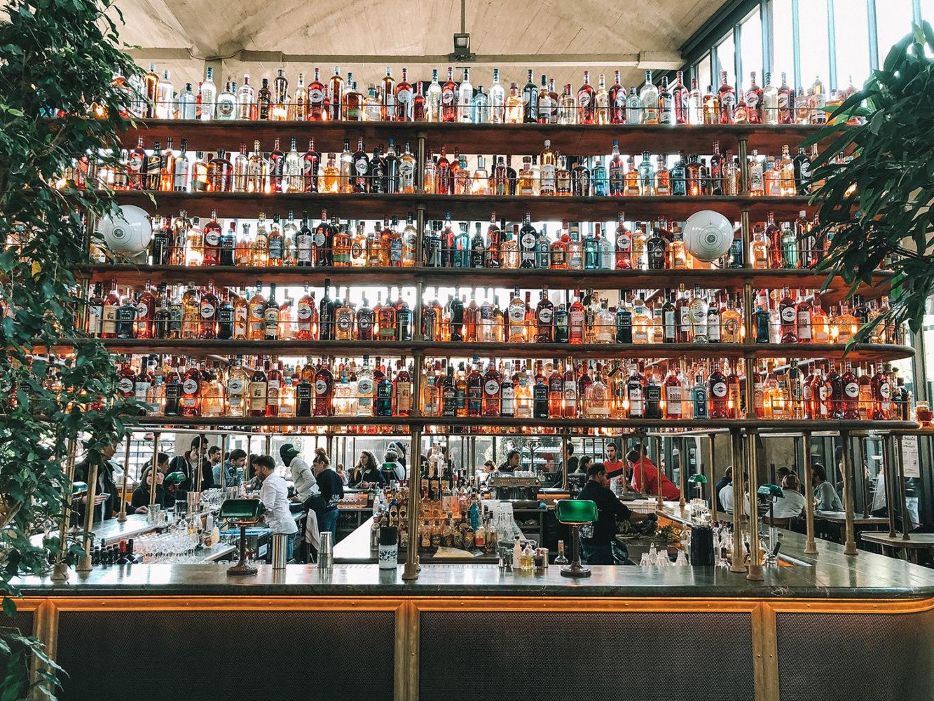 Le bar à cocktails