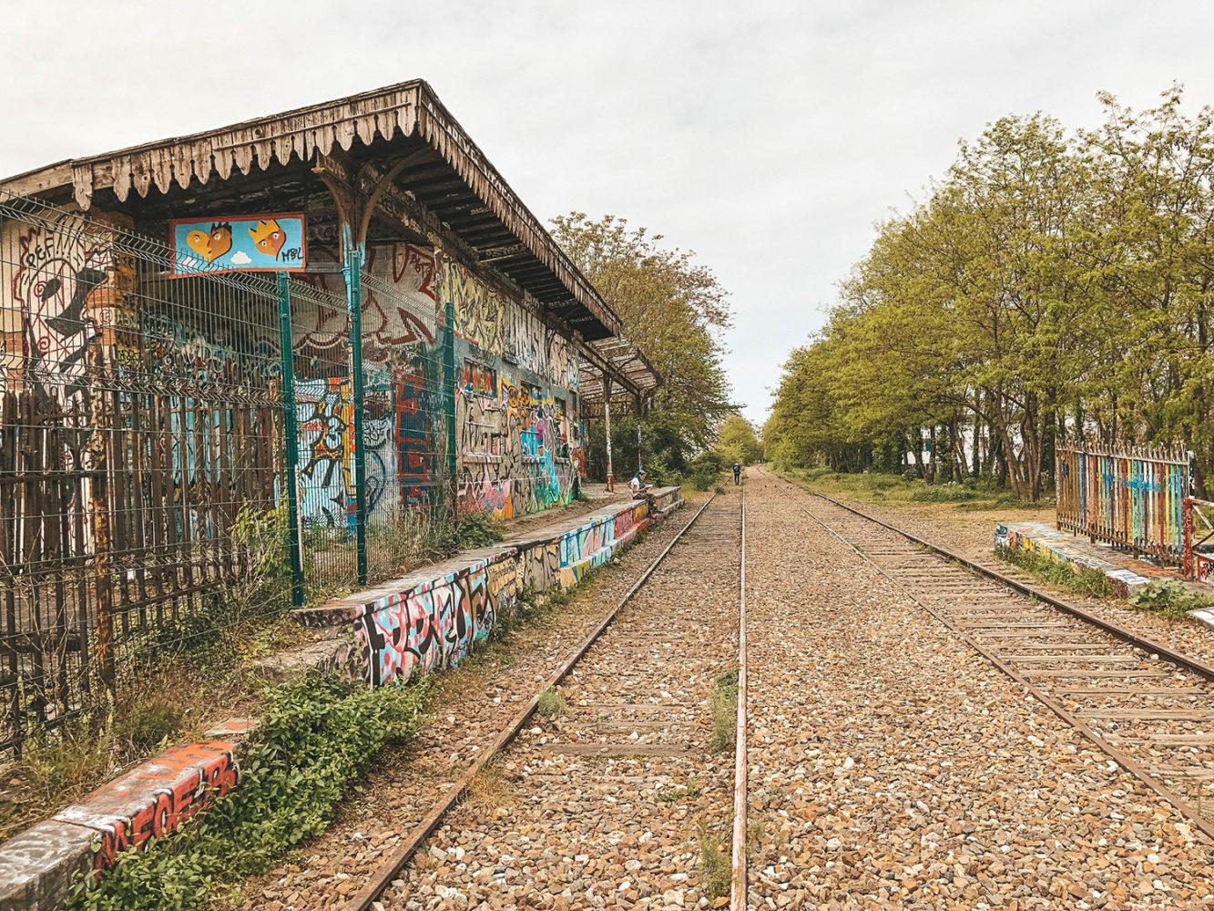 Station abandonnée de la petite ceinture