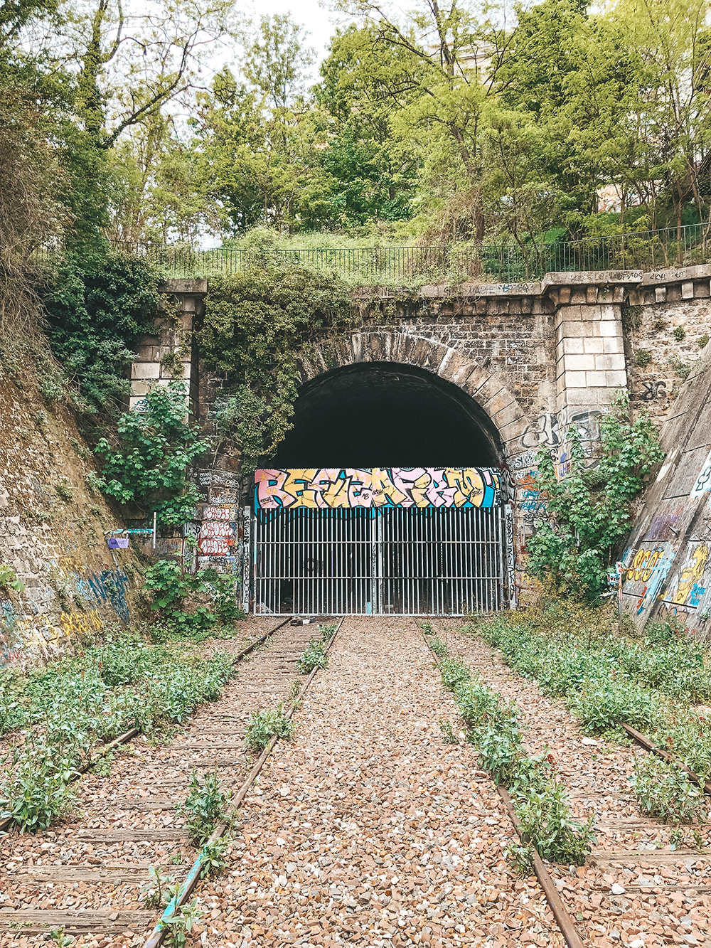 Tunnel fermé