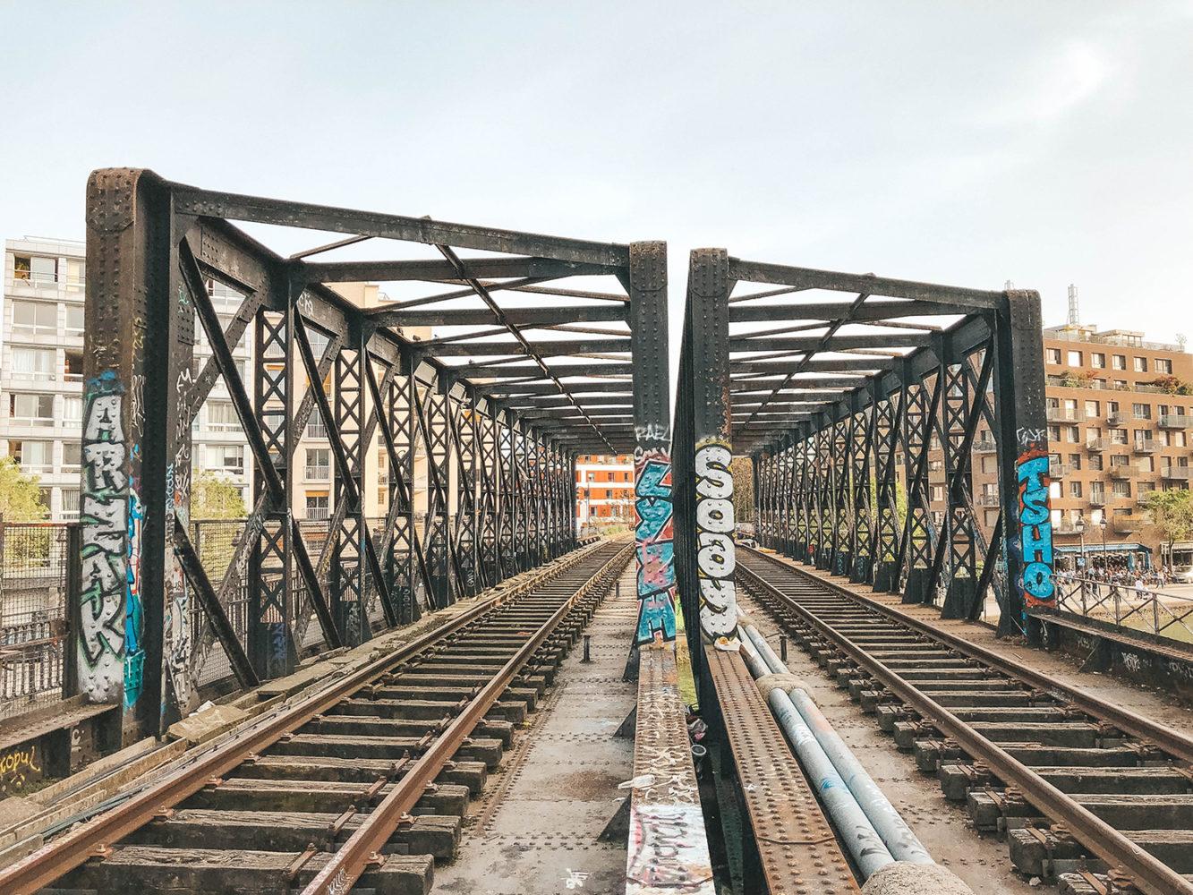 Les anciennes voies ferrées de la petite ceinture