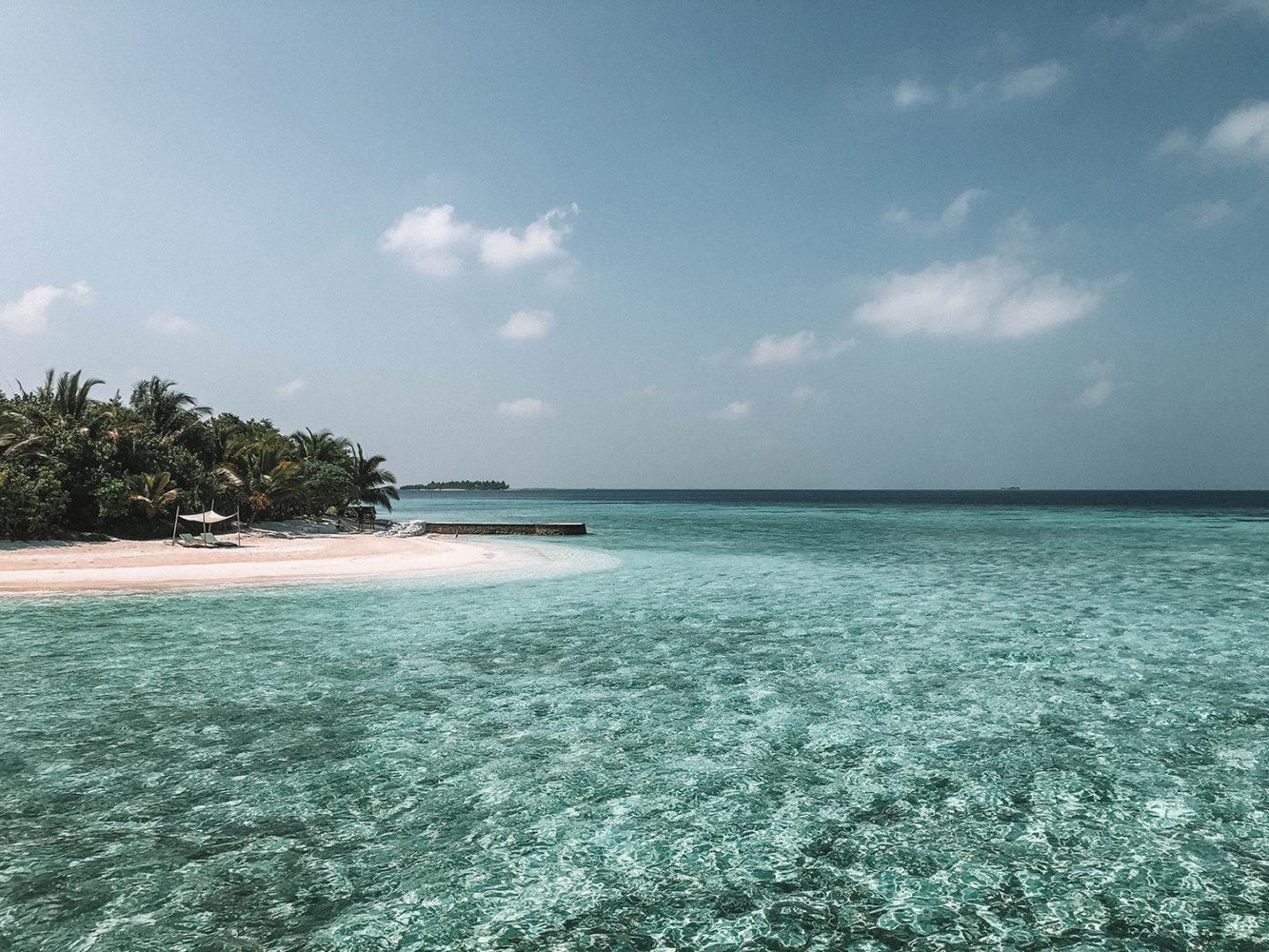 Petite plage privée