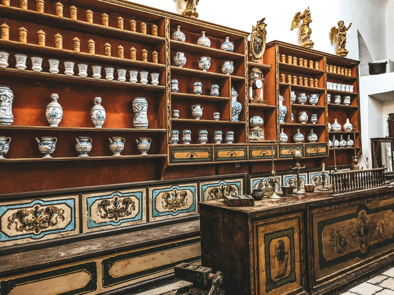 Le petit musée du monastère