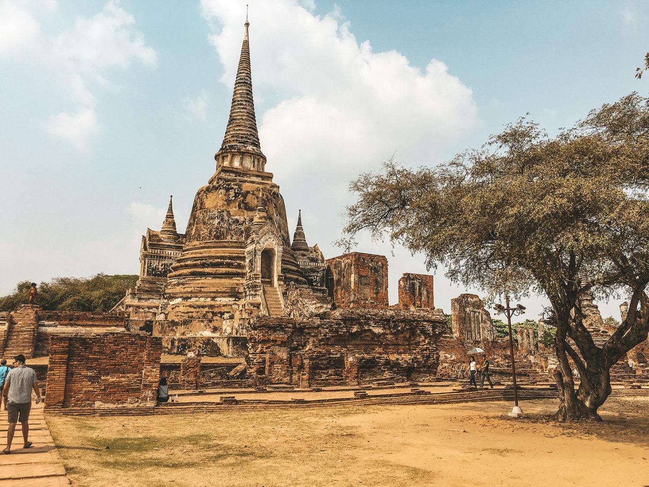 Le plus important temple d'Ayutthaya