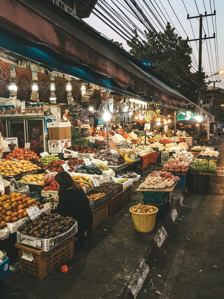 Balade dans le marché