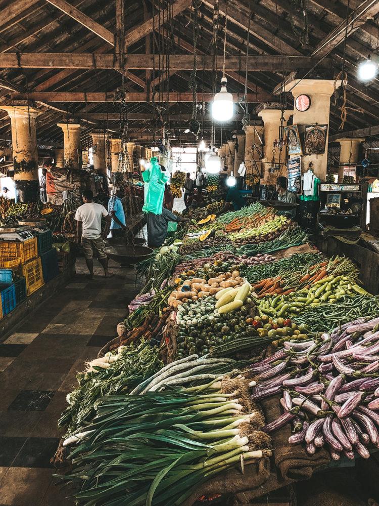 Des légumes rangés méticuleusement