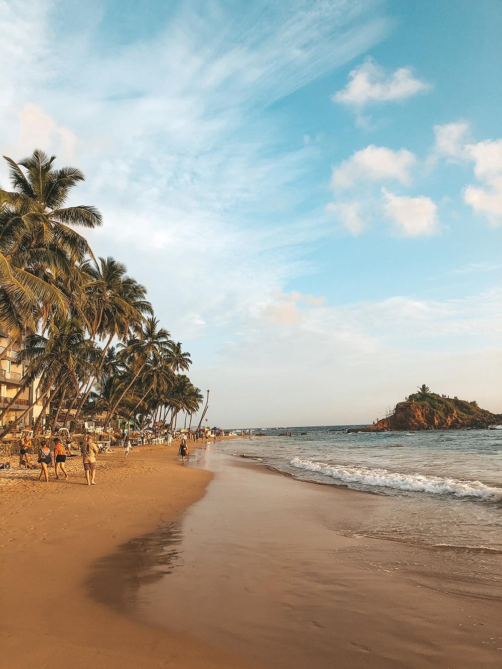"""La magnifique plage de """"Mirissa Beach"""""""