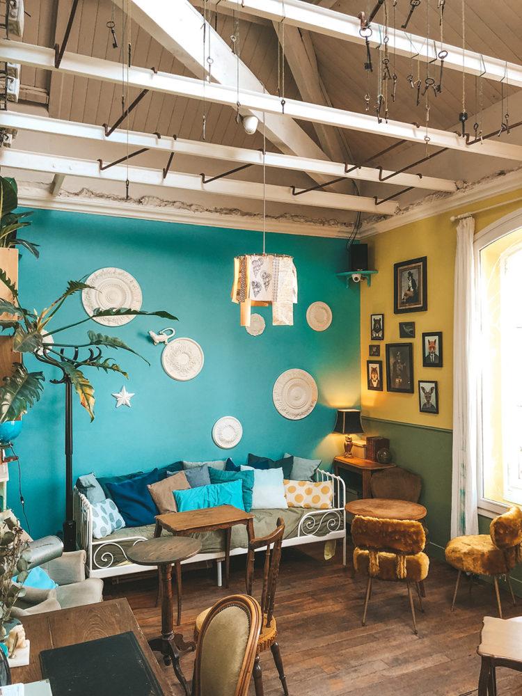 Le salon / bureau