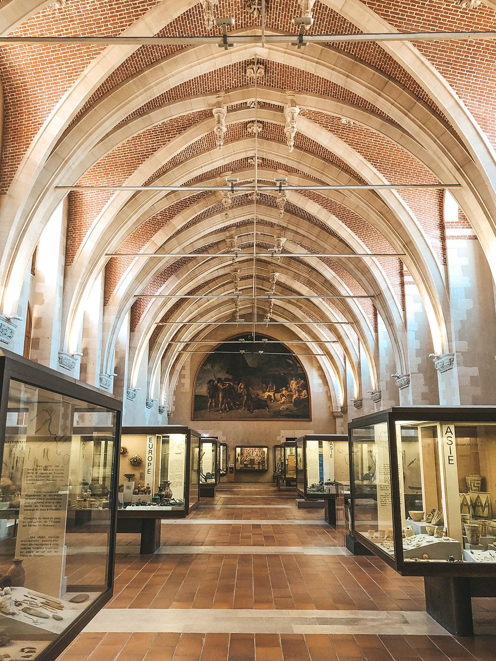 La magnifique dernière salle du musée