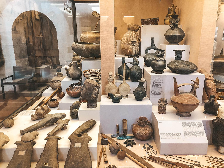 Antiquités du musée