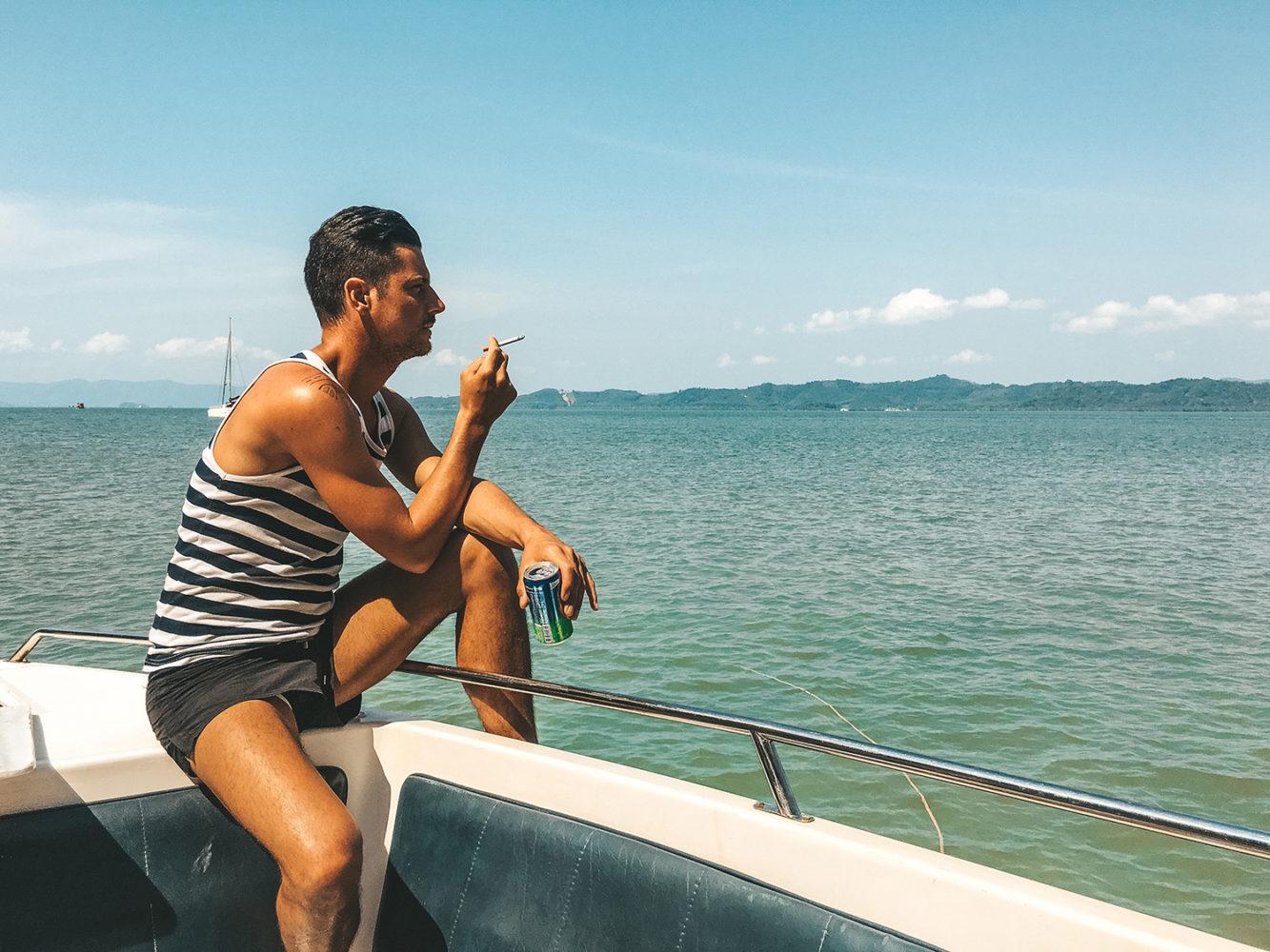 Direction l'île de Koh Panak
