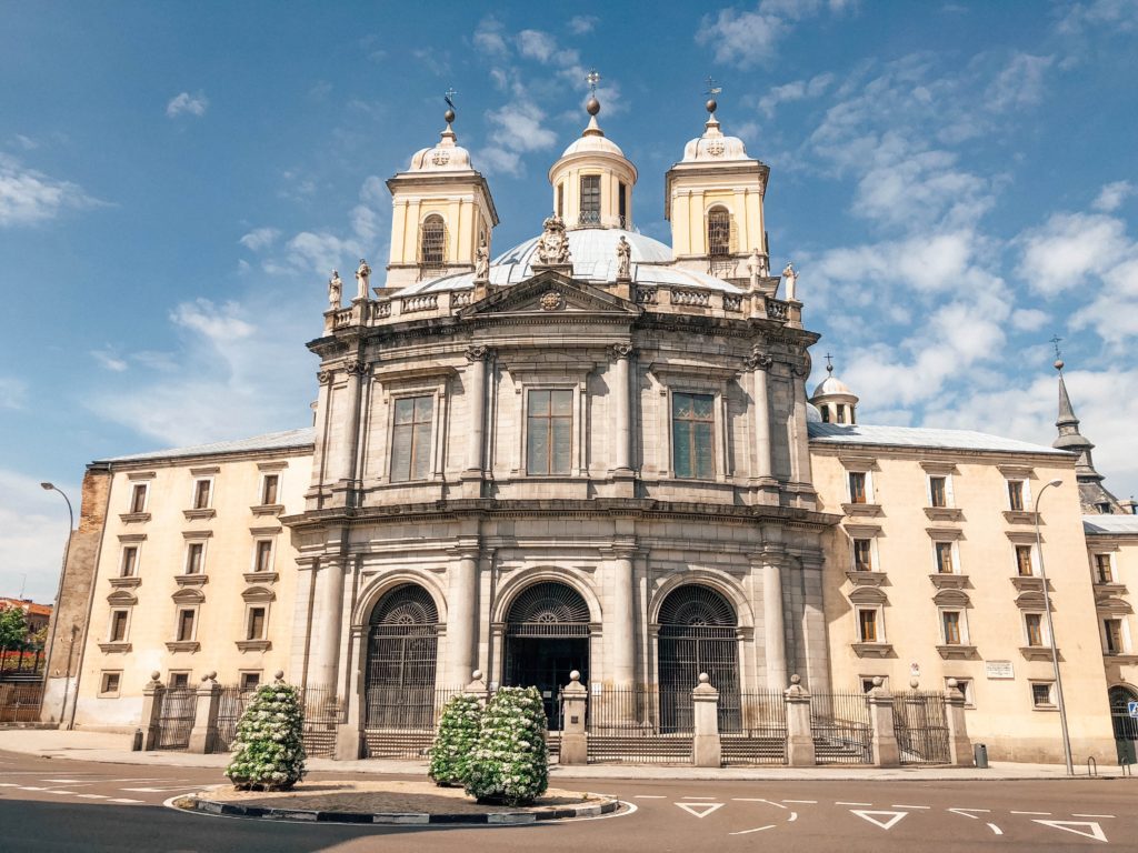 Façade de la Real Basilica de San Francisco el Grande