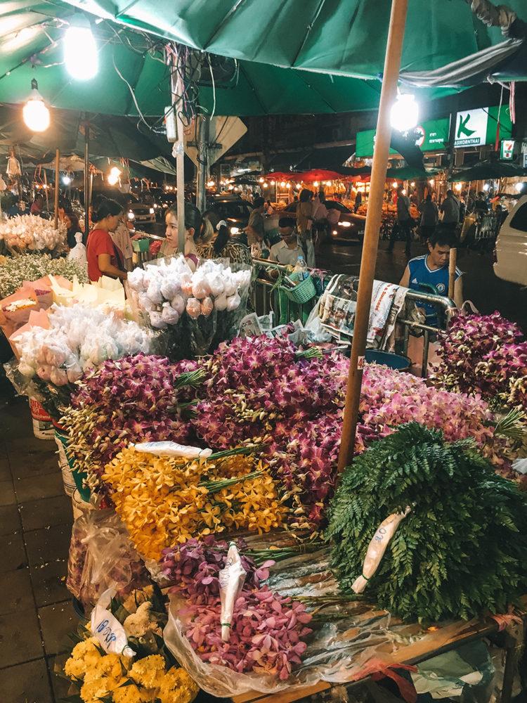 Marché de Pak Khlong Talat