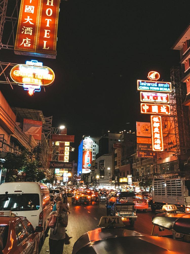 En direction du quartier chinois