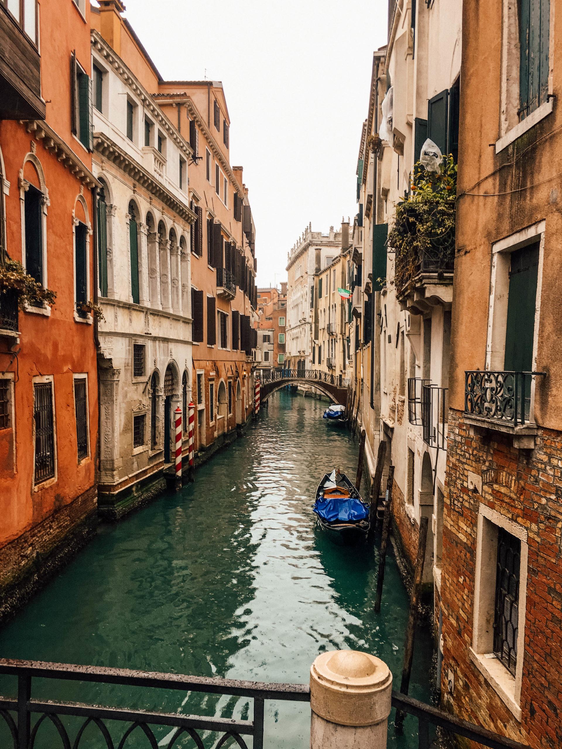Des canaux partout dans le centre de Venise