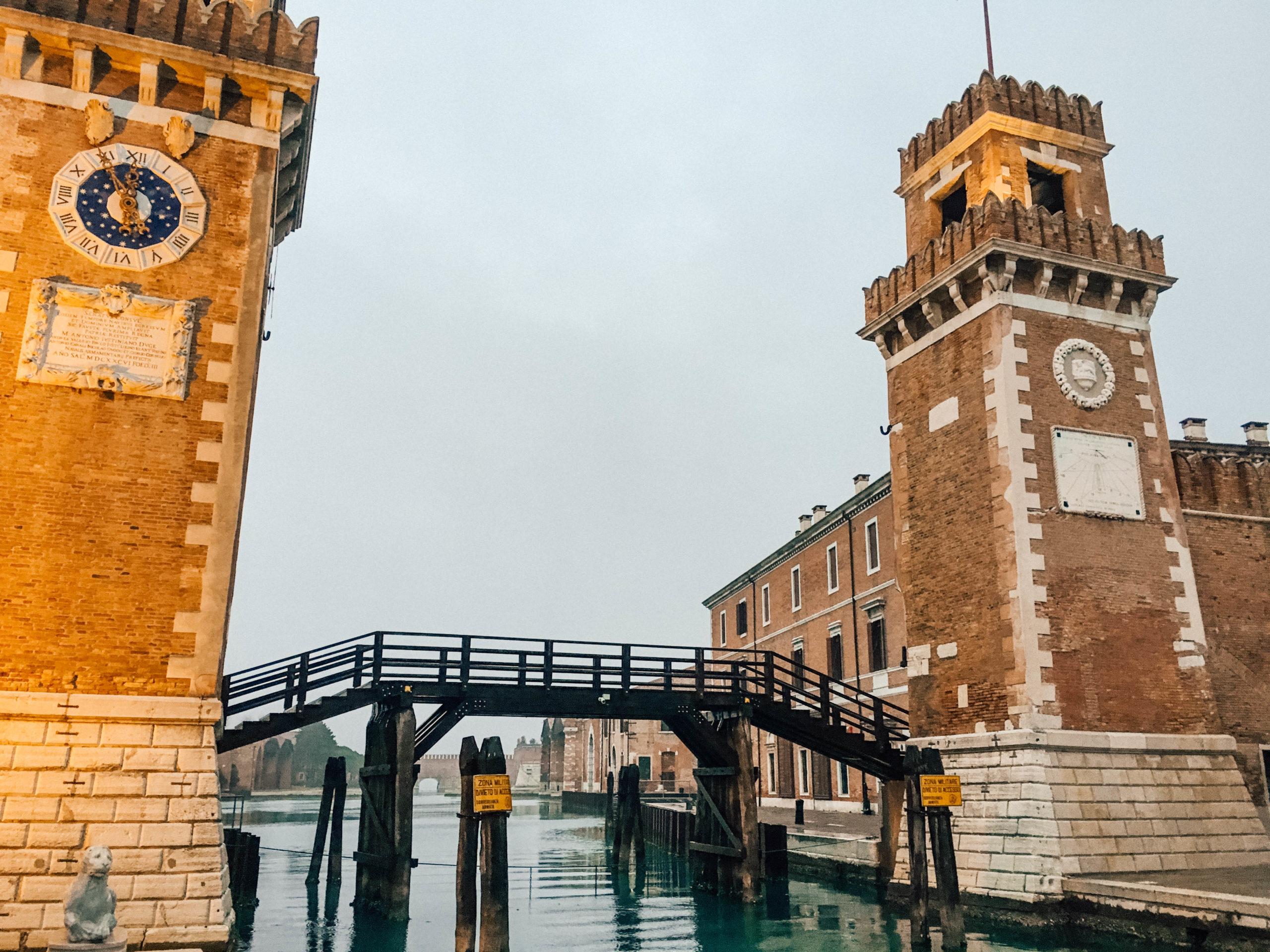 L'Arsenal de Venise, visitable seulement en de rares occasions