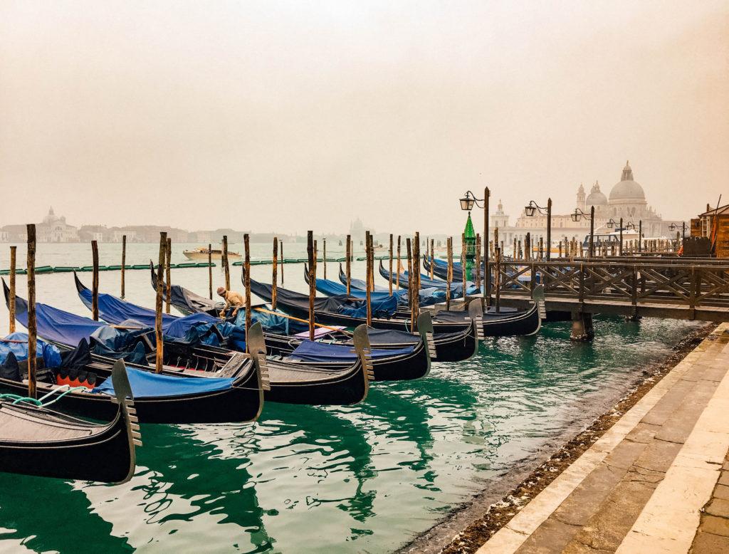 Les mythiques gondoles de Venise