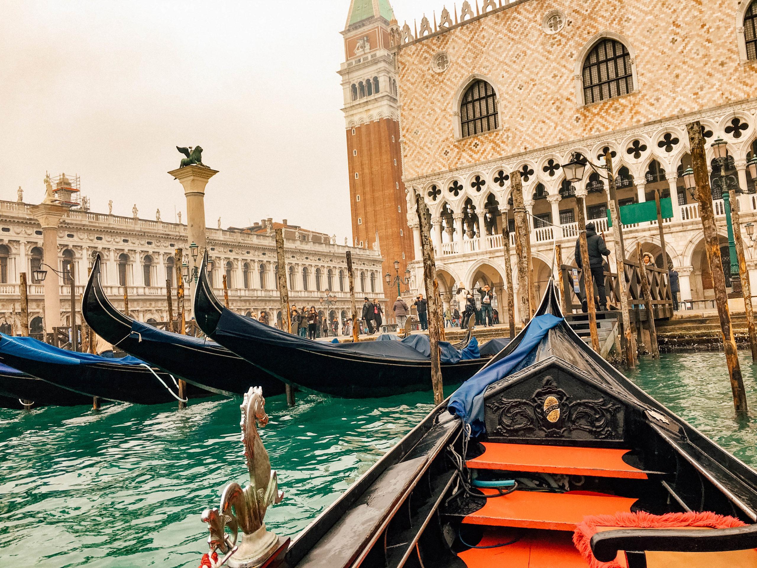 Départ pour une balade sur la lagune vénitienne