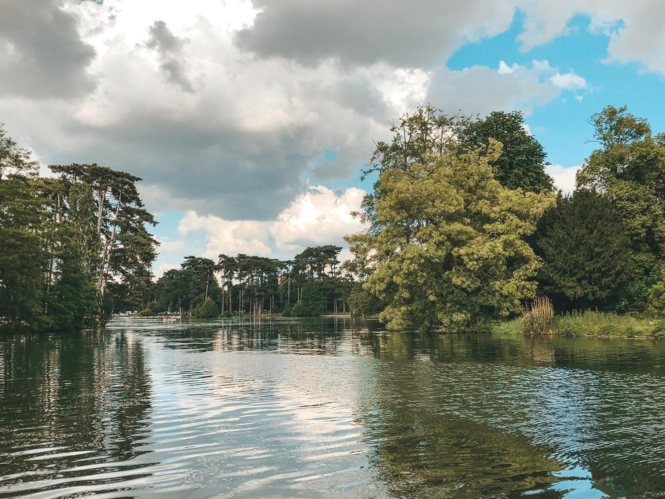Le grand lac du bois de Boulogne
