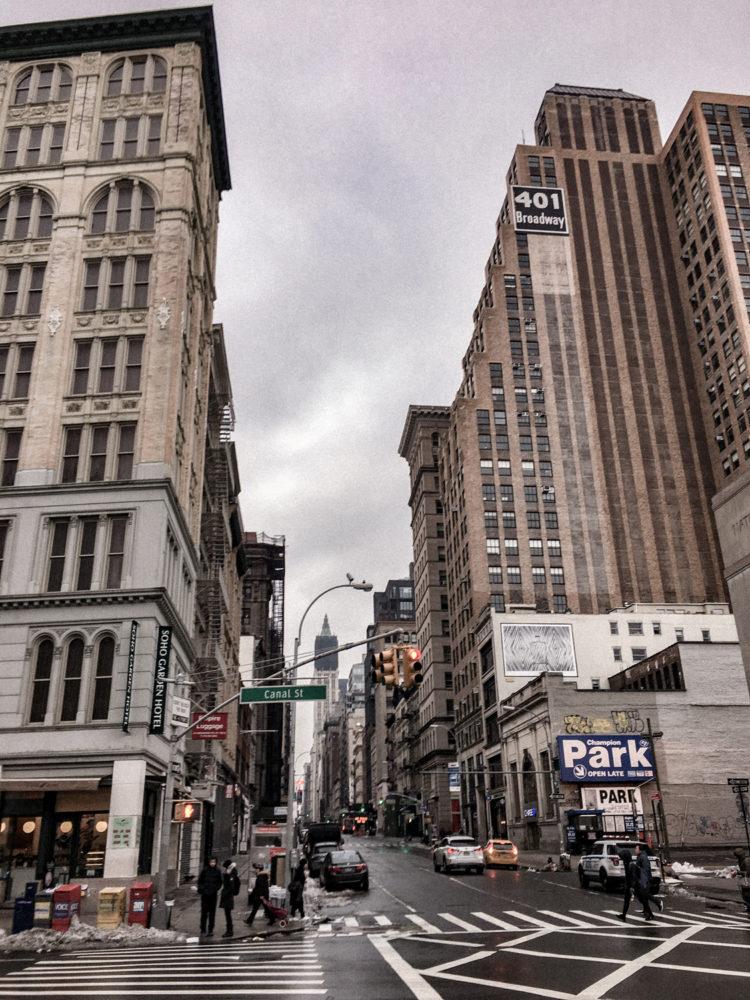 La grande avenue de Canal Street