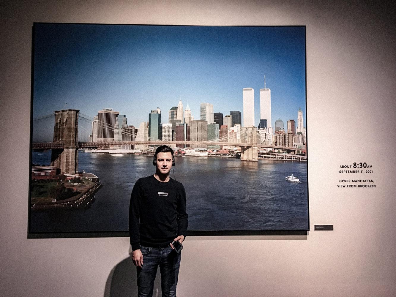 Début de la visite du 9/11 Memorial Museum