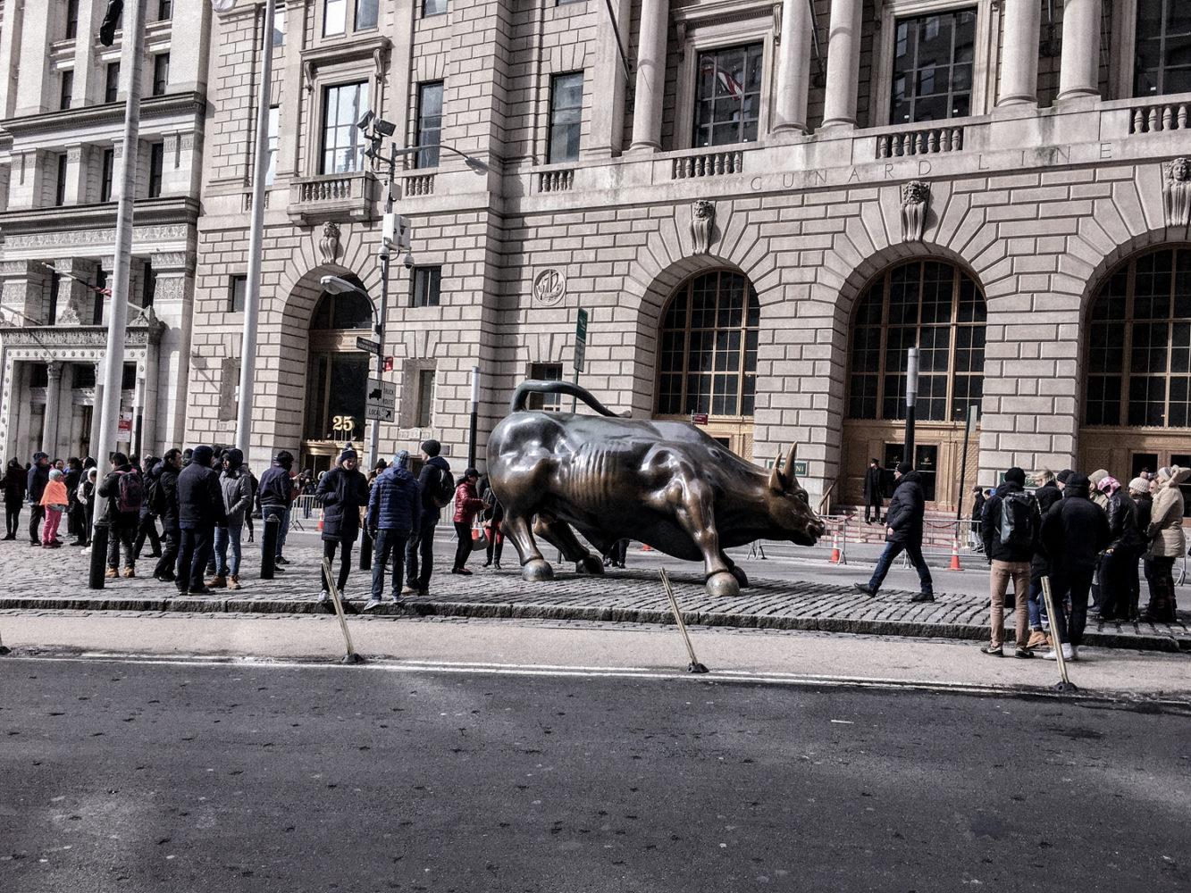 Le taureau de Wall Street