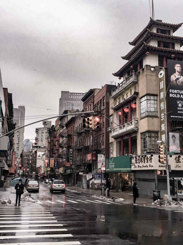 La rue principale de Chinatown