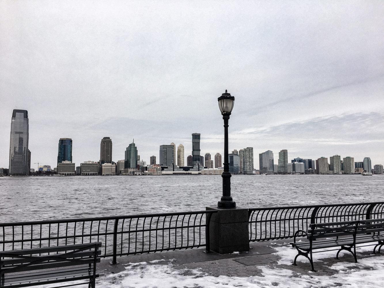 Vue apaisante de l'Hudson River