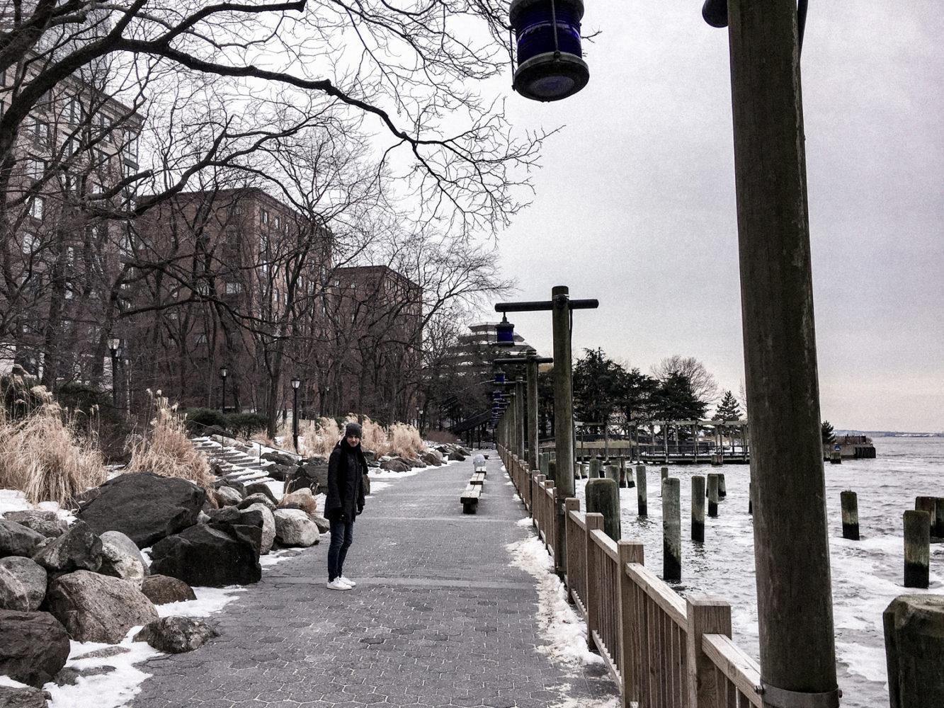 Balade le long de l'Hudson River