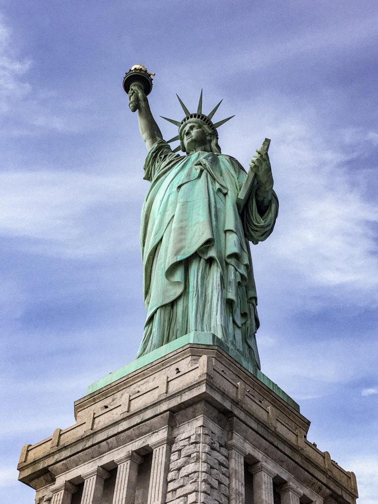 Zoom sur la statue