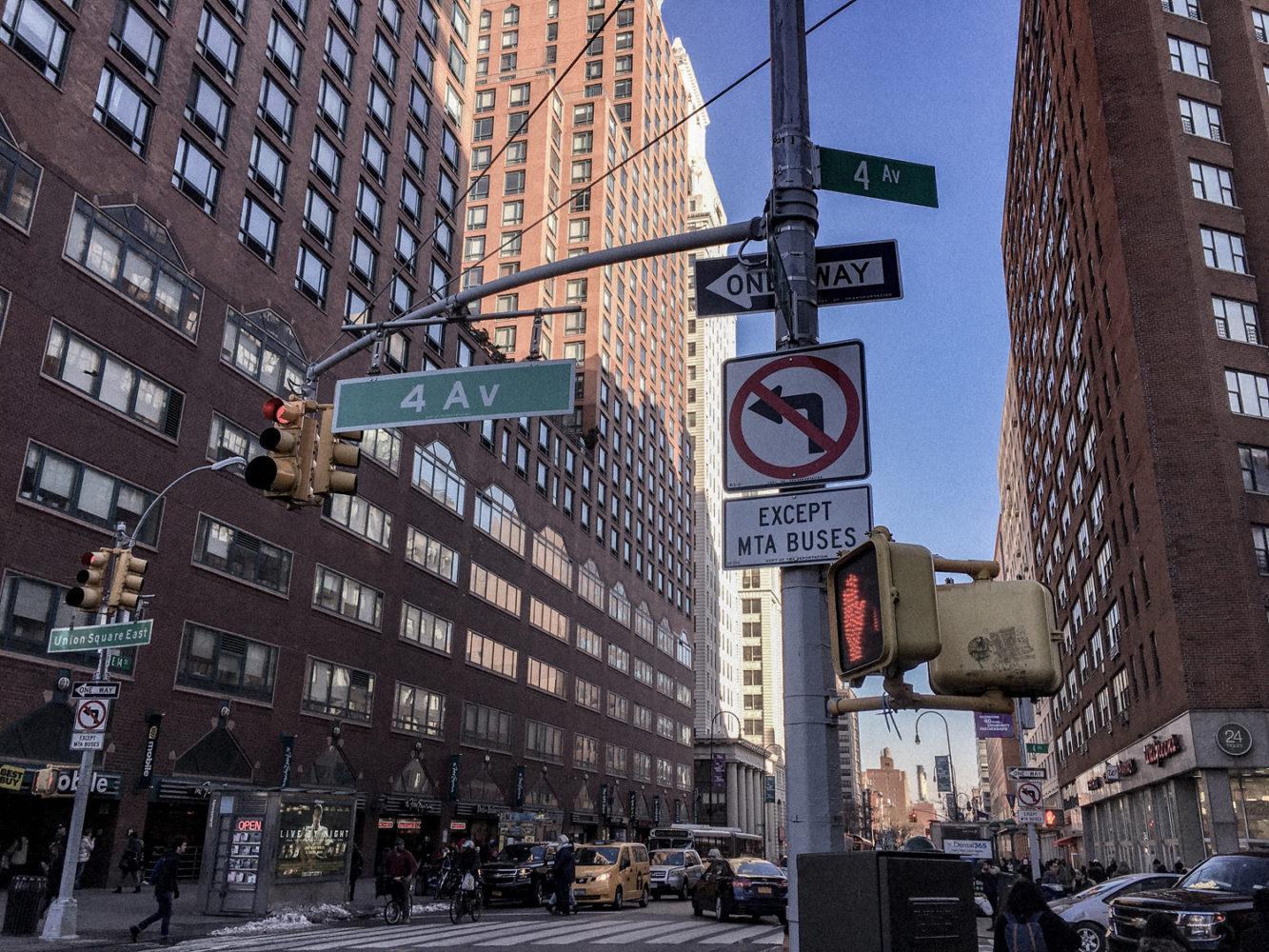 4ème Avenue, en plein coeur de East Village