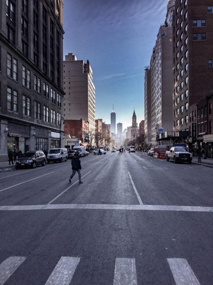 Les grandes avenues de Manhattan